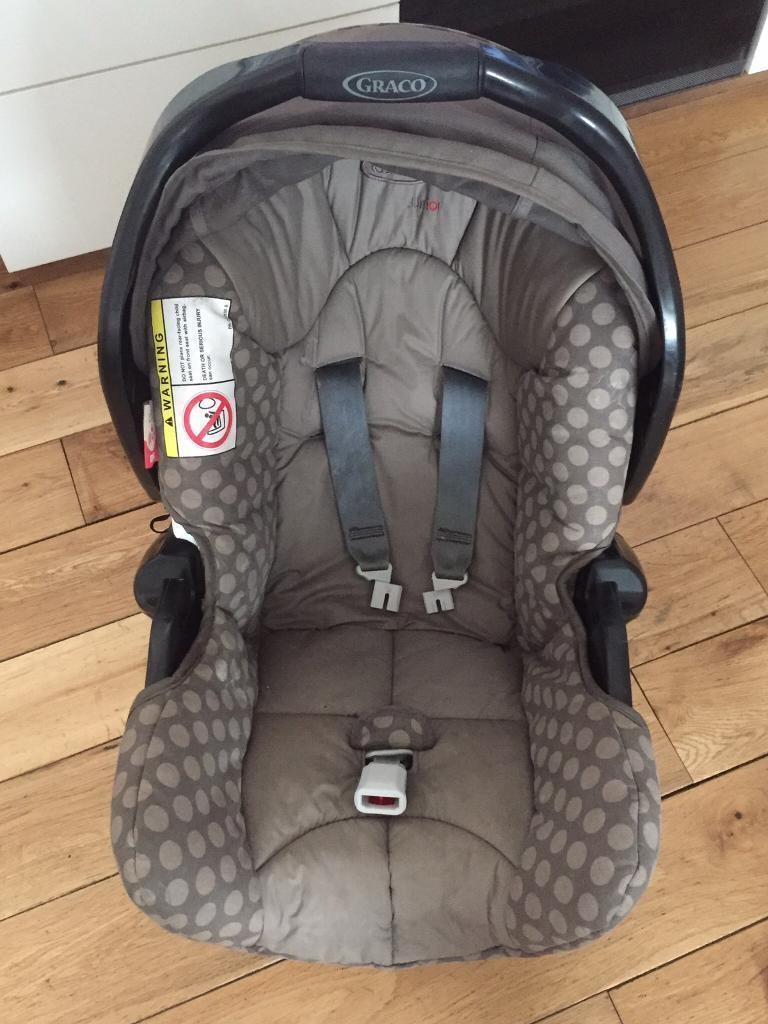 Isofix & Brittax car seat 0+