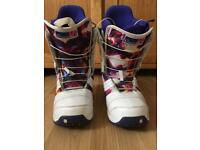 Women's Burton Snowboarding boots size 6