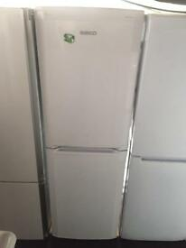 BEKO white good looking frost free A-class fridge freezer cheap