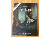 The Making of Harry Potter Official Guide Warner Bros. Studio Tour London *AS NEW*