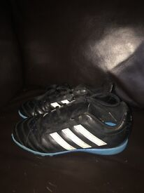 Kids Adidas football boots size 1