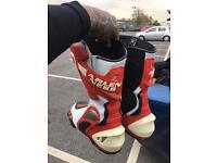 ARLENNESS motorbike boots size 9.5
