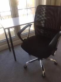 Swivel Chair and Desk - £50