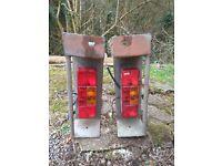 Heavy duty trailer tail lights