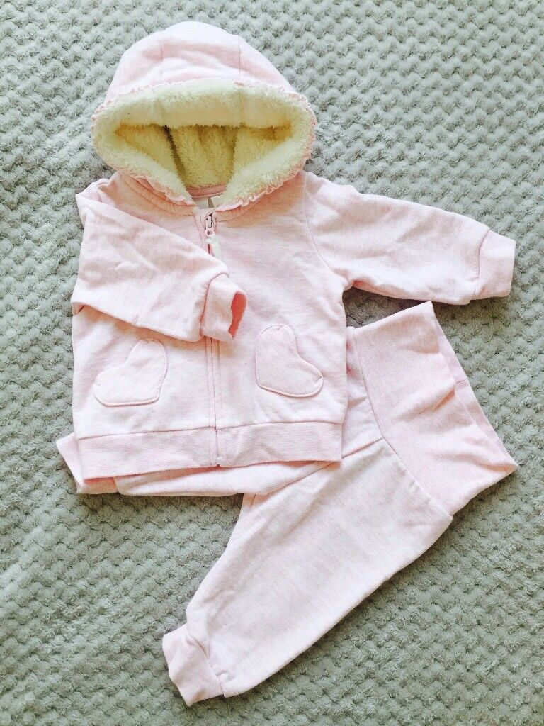 3 sets baby girl clothes