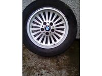 Wheels alloy B MW 520i