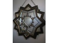 MANADALA STAINED GLASS MIRROR 1050MM