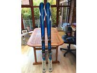 Rosignol Bandit B2 166cm skis and bag included.