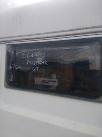 Elddis mistral rear window