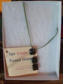 Necklace - fused glass
