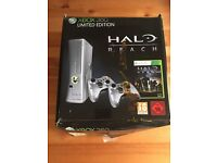 Xbox 360 Console - 250GB Halo Reach (Limited Edition) + 2 pads + 13 games