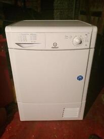 Indesit 8 kilo condenser dryer