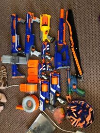 Collection of Nerf Guns - Everything in the picture