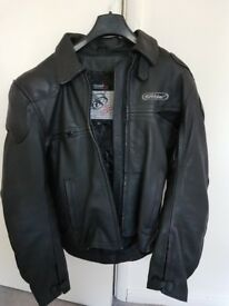 "Bikers Leather Jacket 44"" (Never Worn)"
