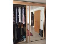 2panel wardrobe sliding doors