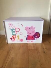 Peppa pig toy box