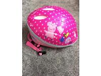 Peppa Pig cycle helmet