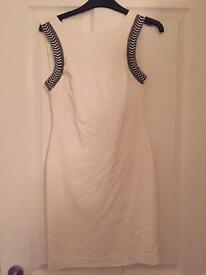 White Zara dress