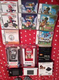nintendo ds3 bundle 2 console +accessories