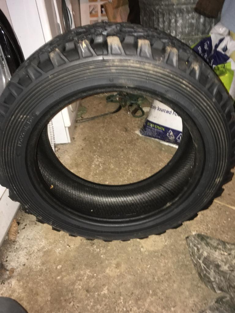 Grass tracking/ off road tyres