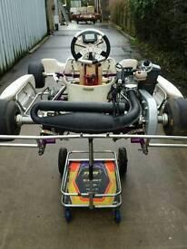 Rotax Junior Minimax kart package complete just add fuel