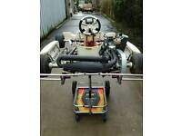 Rotax Junior Minimax kart package complete just add fuel