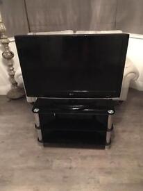 "LG 37"" Black TV"