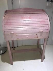 PINK VINTAGE CHILDS WRITING BUREAU