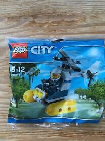 LEGO City Helicopter & Figure Set- NEW