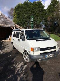 Year 2000 2.5TDI T4 VW campervan (LHD)
