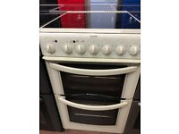 50CM WHITE HOTPOINT ELECTRIC COOKER