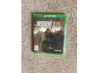 Resident evil biohazard - Xbox one - brand new