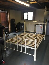 King size bed frame from Marks and Spencers