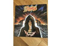 Skyclad Burnt Offering For The Bone Idol vinyl-used in great condition
