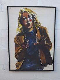 FABULOUS VINTAGE FRENCH TARGET POSTER