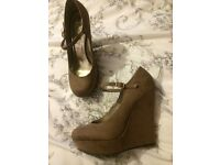 New Look Suede Wedges