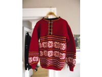 Superb Luxury, New Hand Knitted, Norwegian Style Jumpers