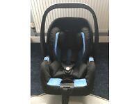 Recaro Privia Car Seat & ISO-Fix base
