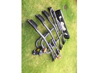 Exodus 4 bike platform cycle carrier for tow bar. Hardly used. With tilt function approx £225 new.