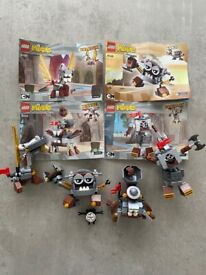 Lego Mixels, Four Sets, all Complete, and with Instructions