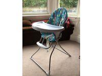 Petite Star Travel High Chair (Animal Friends)