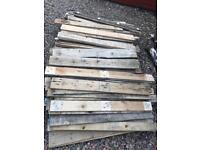 Pallet boards approx 11-13m2
