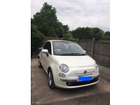 Fiat 500c (Convertible) TwinAir 1.0 (62 Plate)- Pearlescent White [£0 Road Tax/Year]