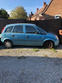 Vauxhall, MERIVA, MPV, 2004, Manual, 1598 (cc), 5 doors