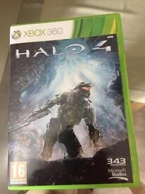 Halo 4 X Box 360 game