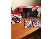 Unopened Nintendo Switch package