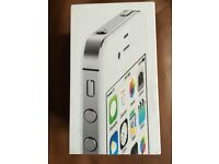 iPhone 4S Official White Box With Inner Tray Only