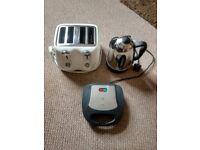 kettle, Toaster & Sandwich Toaster £40