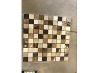 Real marble beige mosaics brand new 66 sheets available