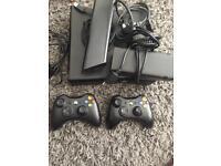 Xbox 360 bundle with skylanders and games